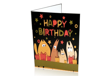 Greeting Cards without Envelopes