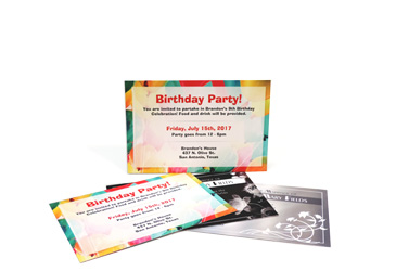 Invitations without Envelopes