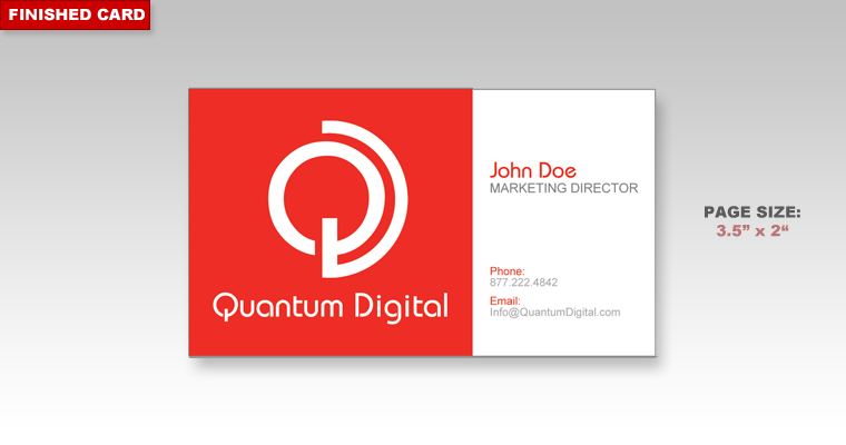 Learn about printing your next business card project with docucopies here is the finished 35 x 2 business card as you can see once the card is trimmed all of our margins between the content and the outside of the card are colourmoves